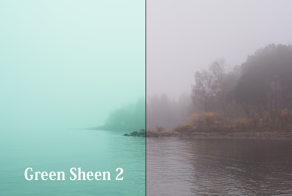 Lightroom Preset Green Sheen 2