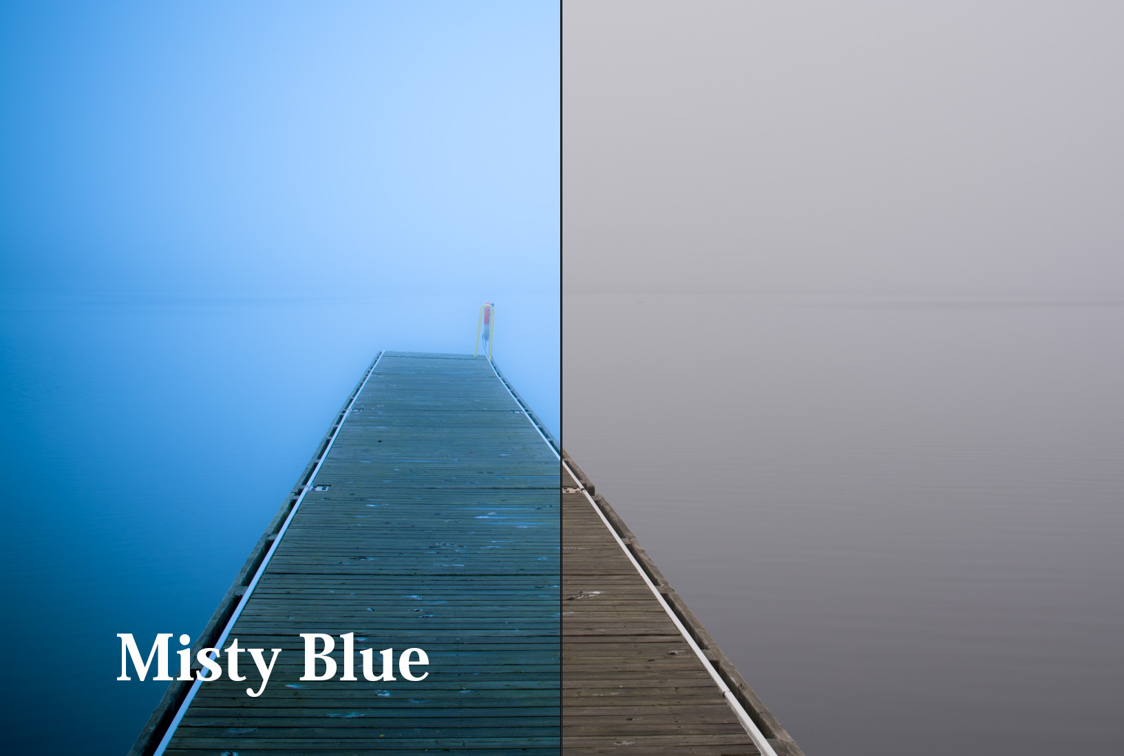 Lightroom Preset Misty Blue